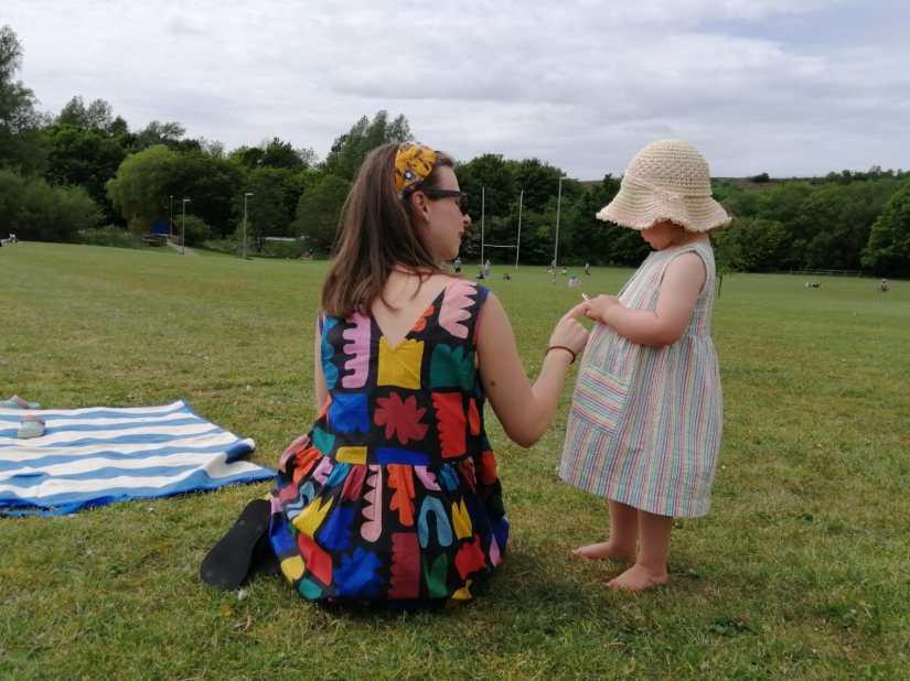 Postpartum thyroiditis how big she's got